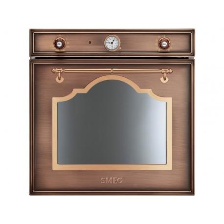 smeg einbaubackofen sf750ra kupfer designlinie cortina 60. Black Bedroom Furniture Sets. Home Design Ideas