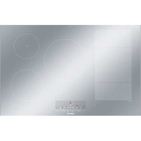 SIEMENS INDUCTION HOB EX879FVC1E METAL LOOK 80 CM
