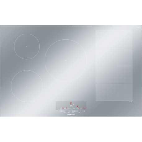 table de cuisson induction siemens ex879fvc1e flexinduction metal l. Black Bedroom Furniture Sets. Home Design Ideas