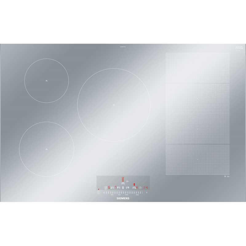 nouveaux styles b651f 39410 SIEMENS INDUCTION HOB EX879FVC1E METAL LOOK 80 CM |FAB ...