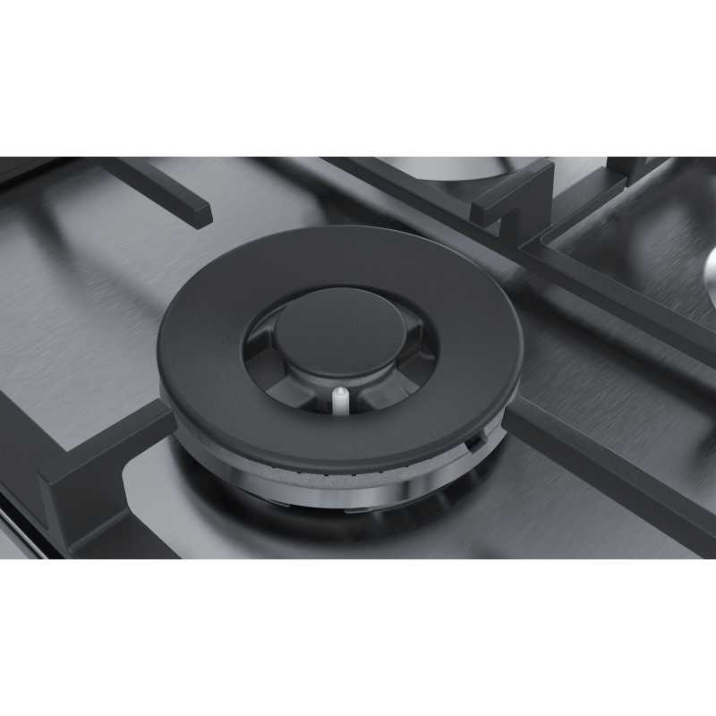 siemens gaskochfeld ec6a5ib90 edelstahl 60 cm fab appliances. Black Bedroom Furniture Sets. Home Design Ideas