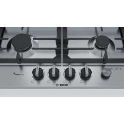 BOSCH GAS HOB PCH6A5M90 STAINLESS STEEL 60 CM
