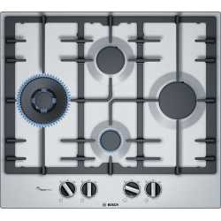 BOSCH GAS HOB PCI6A5B90 STAINLESS STEEL 60 CM