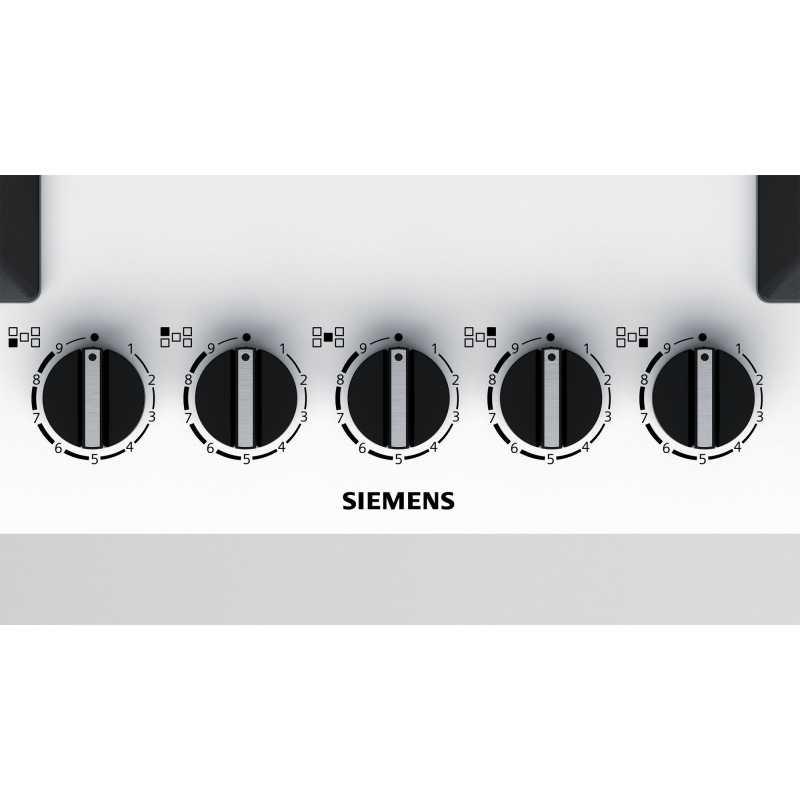 Siemens gaskochfeld ep7a2qb20 weiss glas 75 cm fab appliances for Siemens gaskochfeld