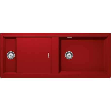 SCHOCK KITCHEN SINK PREPSTATION D150 ROUGE
