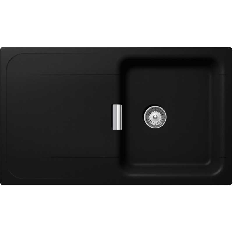 Schock Kitchen Sink Wembley D100 Pure Black Fab Appliances