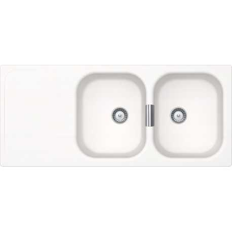 SCHOCK KITCHEN SINK WEMBLEY D200 PURE WHITE