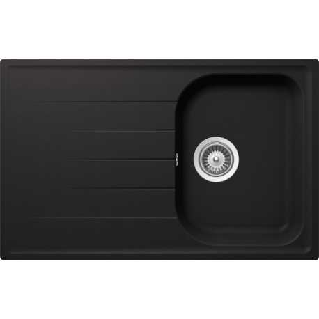 SCHOCK KITCHEN SINK LITHOS D100S CRISTALITE MATT BLACK