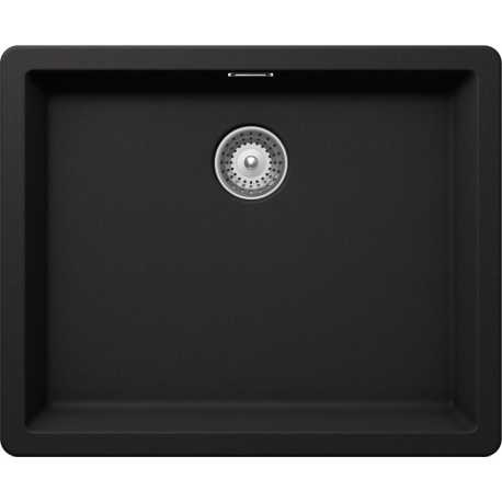 SCHOCK BROOKLYN N100L KITCHEN SINK MATT BLACK