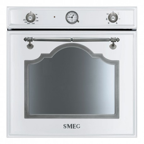 SMEG ELECTRIC MULTIFUNCTION OVEN SF700BS WHITE CORTINA DESIGN 60 CM
