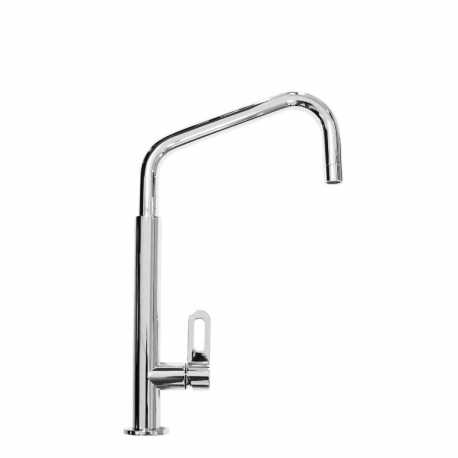 SCHOCK AQUATUBE SINGLE LEVER KITCHEN SINK MIXER TAP CHROME