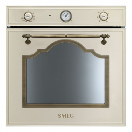 SMEG ELECTRIC MULTIFUNCTION OVEN SF700PO CREAM CORTINA DESIGN 60 CM