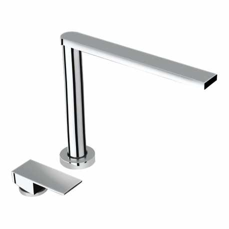 SCHOCK AQUALIFT UNDERWINDOW SINGLE LEVER KITCHEN SINK MIXER TAP CHROME