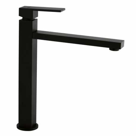 SCHOCK NEW AQUASKY SINGLE LEVER KITCHEN SINK MIXER TAP PURE BLACK