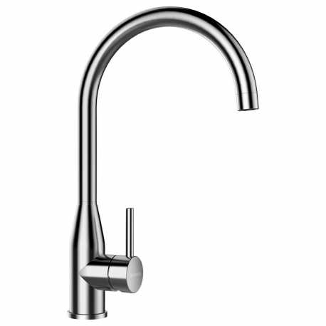 SCHOCK KAVUS SINGLE LEVER KITCHEN SINK MIXER TAP STAINLESS STEEL