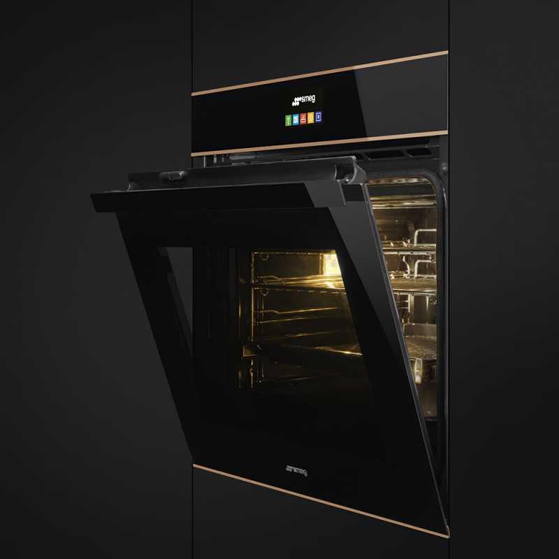 Smeg Sfp6604pnre Dolce Stil Novo Self Cleaning Oven 60 Cm