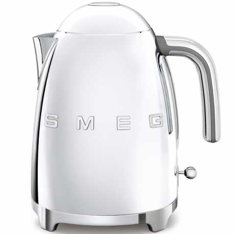 SMEG KETTLE 50'S STYLE POLISHED STAINLESS STEEL KLF03SSEU