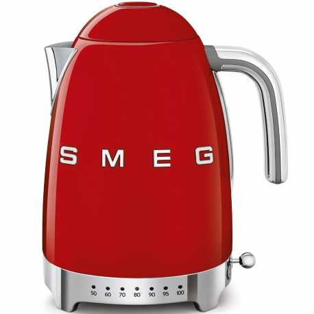 SMEG VARIABLE TEMPERATURE KETTLE 50'S STYLE RED KLF04RDEU