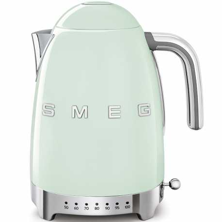 SMEG VARIABLE TEMPERATURE KETTLE 50'S STYLE PASTEL GREEN KLF04PGEU