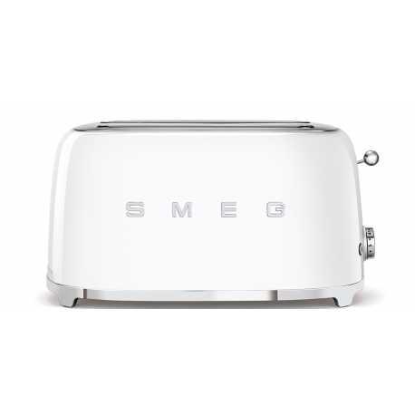 SMEG TOASTER 4 SLICES 50'S STYLE WHITE TSF02WHEU