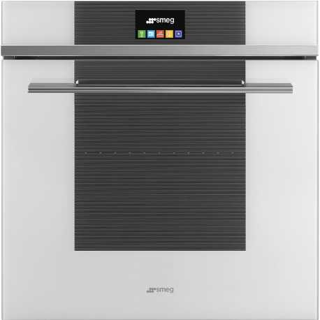SMEG ELECTRIC MULTIFUNCTION OVEN SFP6104TVB WHITE LINEA DESIGN 60 CM