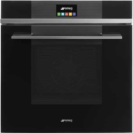 SMEG ELECTRIC MULTIFUNCTION OVEN SFP6104TVN BLACK LINEA DESIGN 60 CM