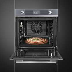 SMEG ELECTRIC MULTIFUNCTION PIZZA OVEN SF6102PZS