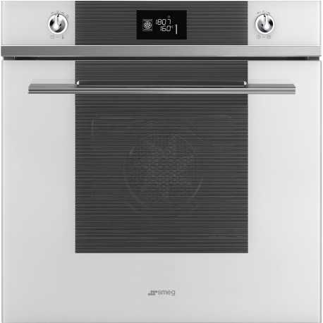 SMEG ELECTRIC MULTIFUNCTION PYROLYTIC OVEN SFP6102TVB WHITE