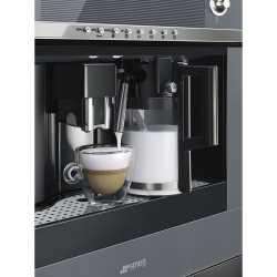 SMEG MACHINE À CAFÉ ENCASTRABLE CMS4101S SILVER