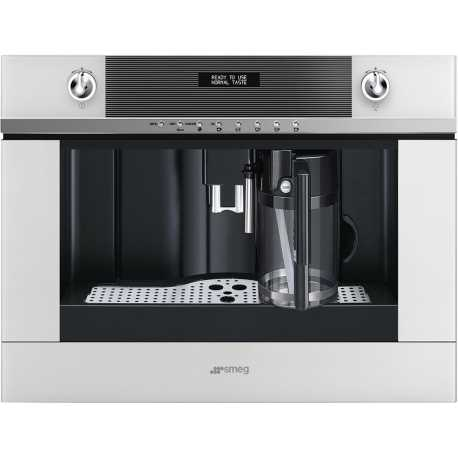 SMEG BUILT-IN COFFEE MACHINE WITH CAPPUCCINO MAKER CMS4101N BLACK