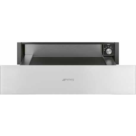 SMEG WARMING DRAWER CPR115B WHITE GLASS