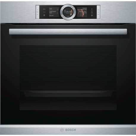 BOSCH ELECTRIC OVEN WITH STEAM HSG636BS1 60 CM