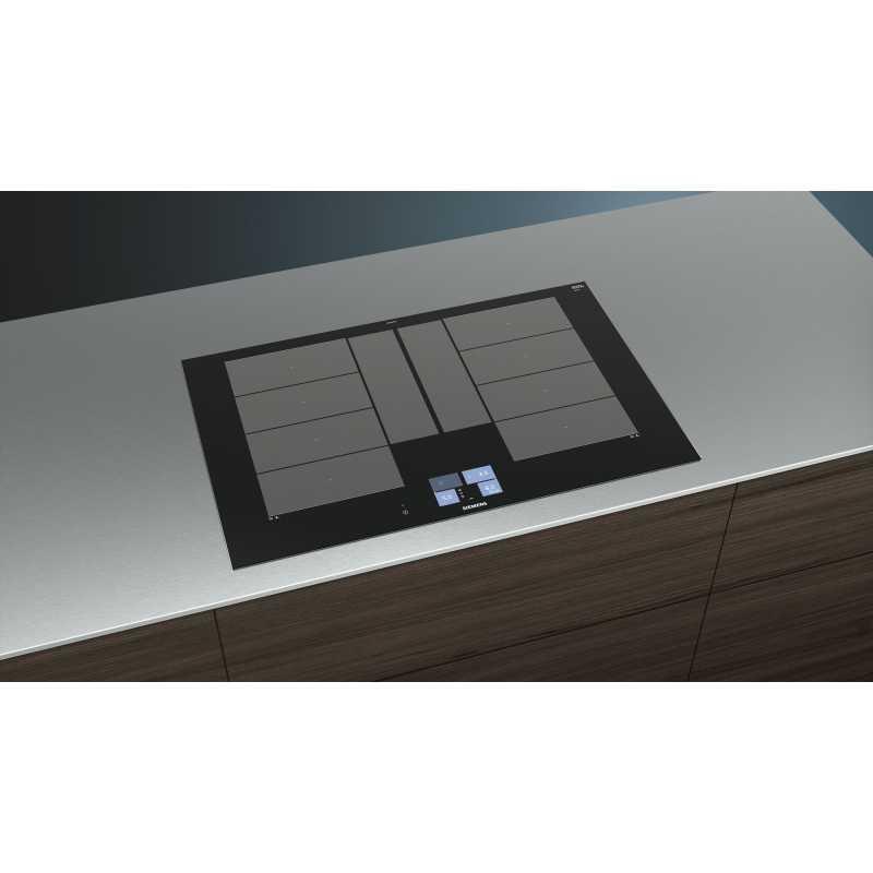 siemens induktionskochfeld iq700 ex875kyw1e 80 cm fab appliances. Black Bedroom Furniture Sets. Home Design Ideas