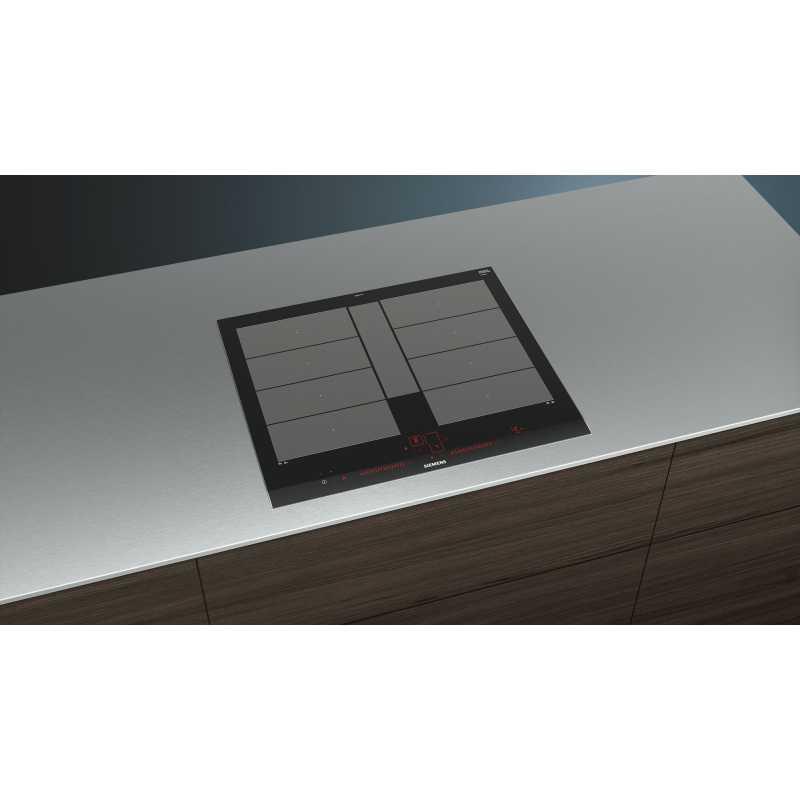 table de cuisson induction siemens ex675lyv1e 60 cm fab. Black Bedroom Furniture Sets. Home Design Ideas