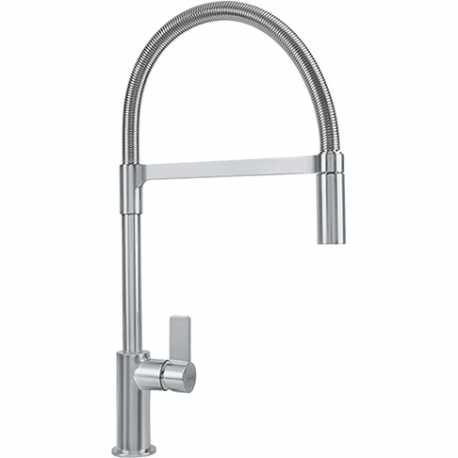 FRANKE AMBIENT SINGLE LEVER SINK MIXER TAP NICKEL MATT