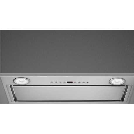 SMEG INTEGRATED HOOD KICGR52X STAINLESS STEEL 54 CM