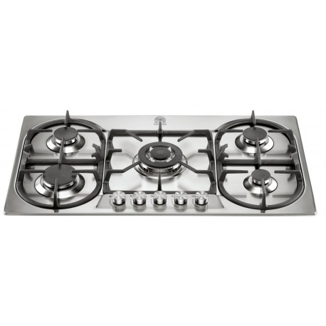 LA GERMANIA GAS HOB FUTURA 90 P910 1 D9 X STAINLESS STEEL - 90 CM