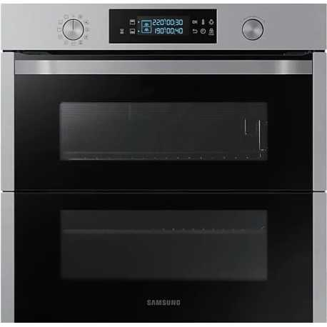 SAMSUNG DUAL COOK FLEX OVEN NV75N5671RS STAINLESS STEEL 60 CM