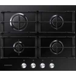 SAMSUNG GAS HOB NA64H3010AK BLACK TEMPERED GLASS - 60 CM