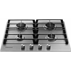 SAMSUNG GAS HOB NA64H3010AS STAINLESS STEEL - 60 CM
