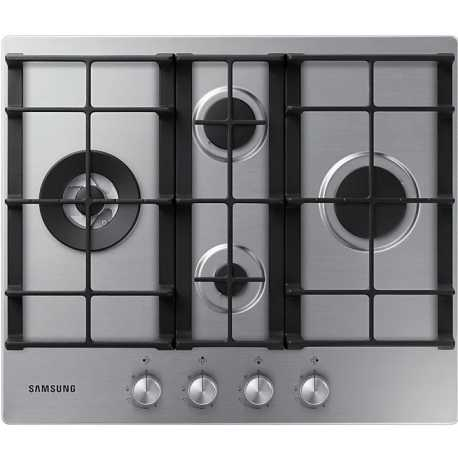 SAMSUNG GAS HOB NA64H3031BS STAINLESS STEEL - 60 CM