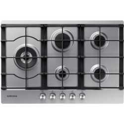 SAMSUNG GAS HOB NA75J3030AS STAINLESS STEEL - 75 CM