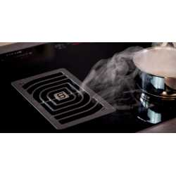 FABER GALILEO INDUCTION HOB WITH INTEGRATED HOOD 83 CM