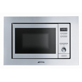 SMEG MICROWAVE OVEN WITH ELECTRIC GRILL MI20X-1 STAINLESS STEEL 60 CM