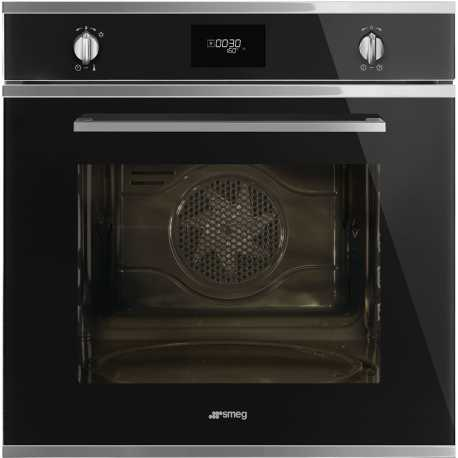 SMEG ELECTRIC PIZZA OVEN SFP6401TVN BLACK