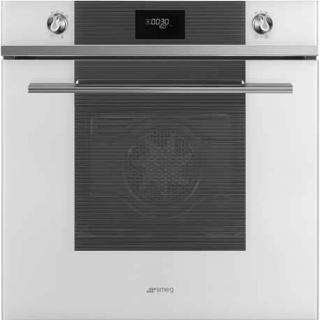 SMEG ELECTRIC MULTIFUNCTION PYROLYTIC OVEN SFP6101TVB WHITE