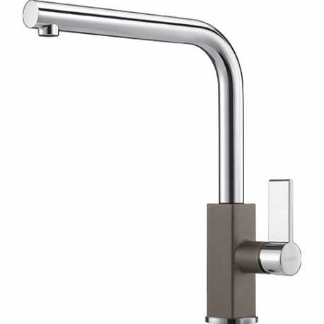 FRANKE MARIS SINGLE LEVER SINK MIXER TAP CHROME AND STORM