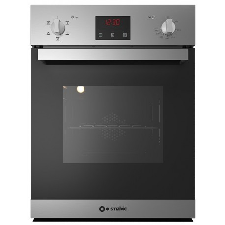 SMALVIC ELECTRIC MULTIFUNCTION OVEN FI-45WT SX10-BT6 STAINLESS STEEL - 45 CM