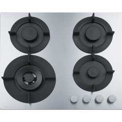 FRANKE GAS HOB MARIS FREE FHMF 604 3G DC C POLISHED STAINLESS STEEL 60 CM