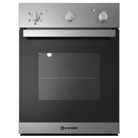 SMALVIC ELECTRIC MULTIFUNCTION OVEN FI-45WT SX10-PSC STAINLESS STEEL - 45 CM
